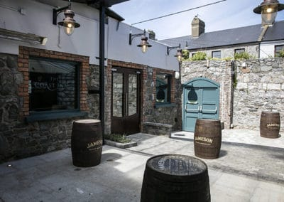 The Courtyard Bar in Skerries, Co. Dublin. Ireland